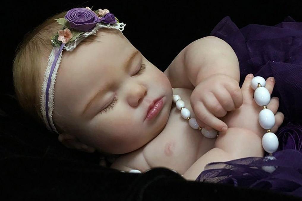 Custom Realborn 7 Month June Asleep