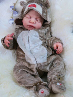Full Body Silicone Baby Doll Abigail
